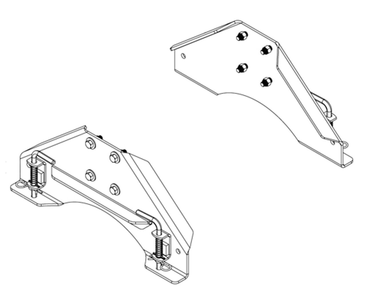 5987 --- Demco Set of SL Siderails