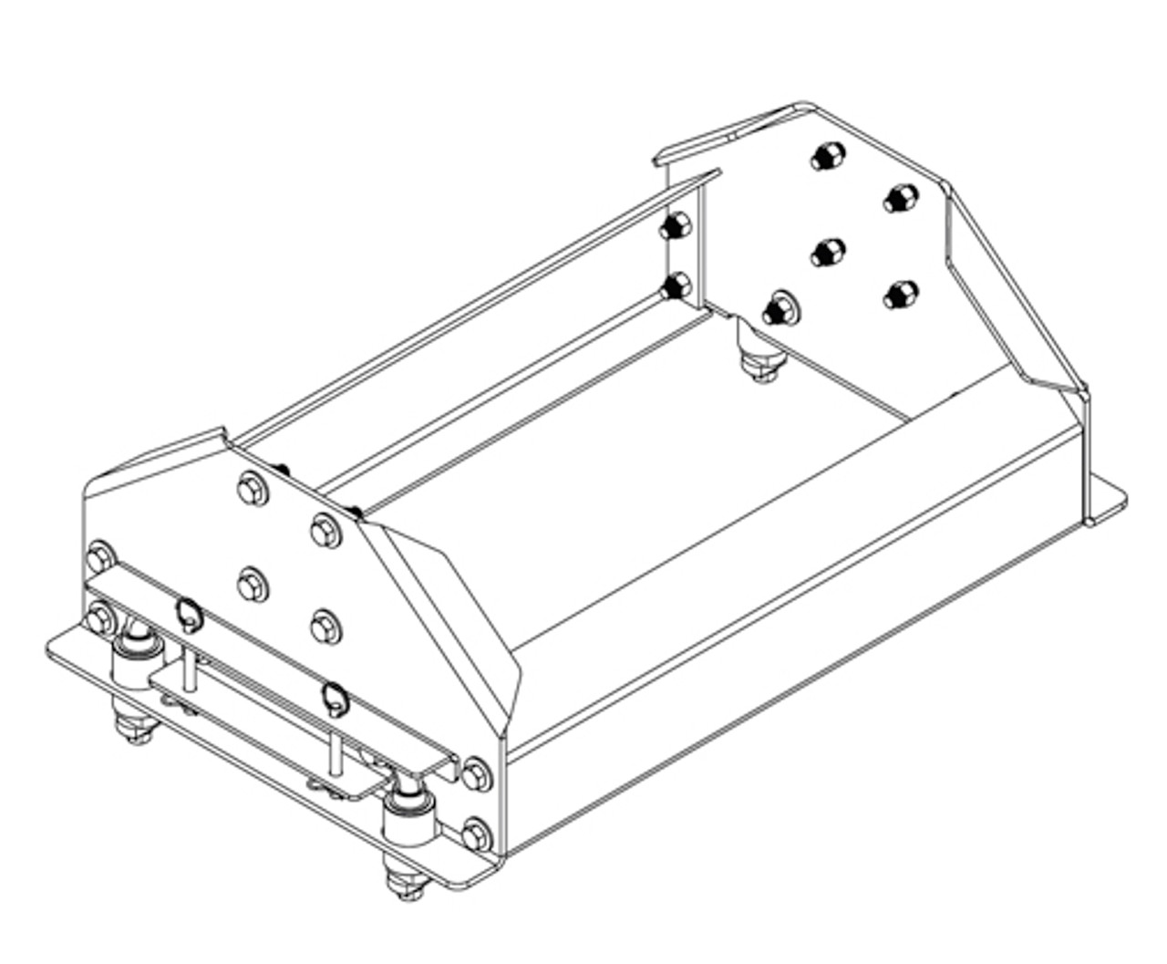 6040 --- Demco UMS Side Rail Kit for Reese Under Bed Brackets