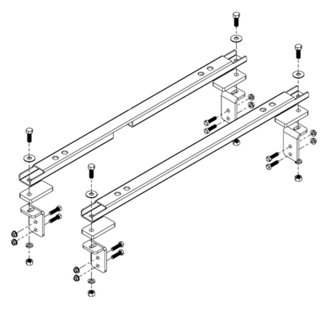 8551006 --- Demco Rail Kit - UMS Series