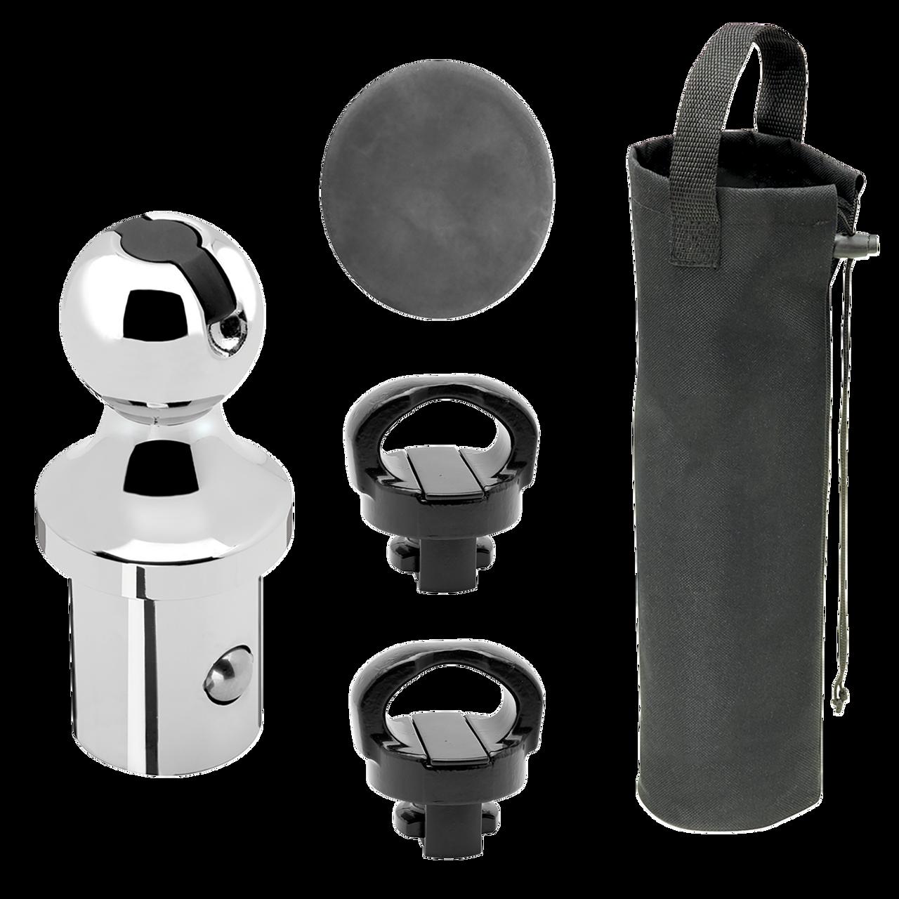"""30888 --- 2-5/16"""" Elite Under-Bed Gooseneck Accessories Kit for Dodge RAM OEM rail system"""