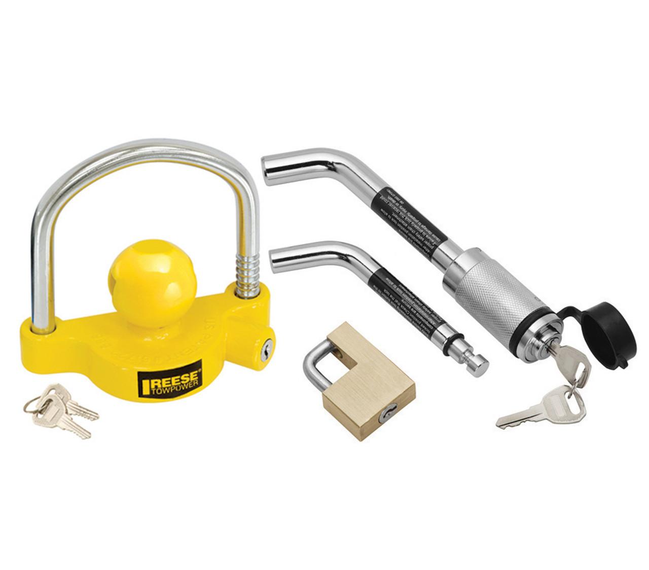 63256 --- Trailer Coupler and Hitch Lock Keyed Alike Kit