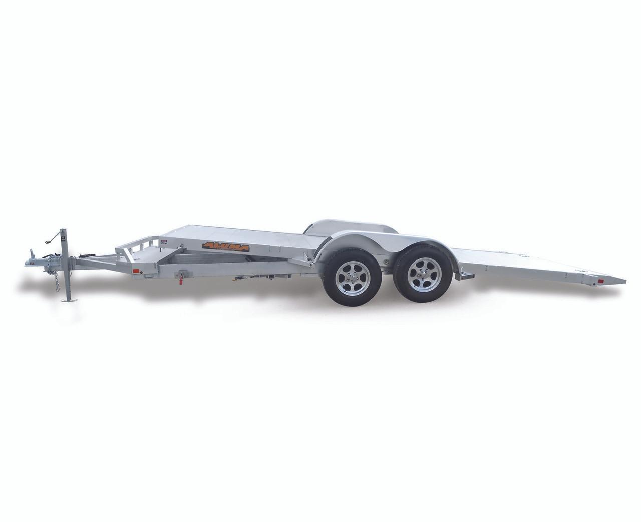 "AL8220HTILT --- 82"" x 20' Aluminum Tandem Tilt Bed Utility Trailer - 9.9K"