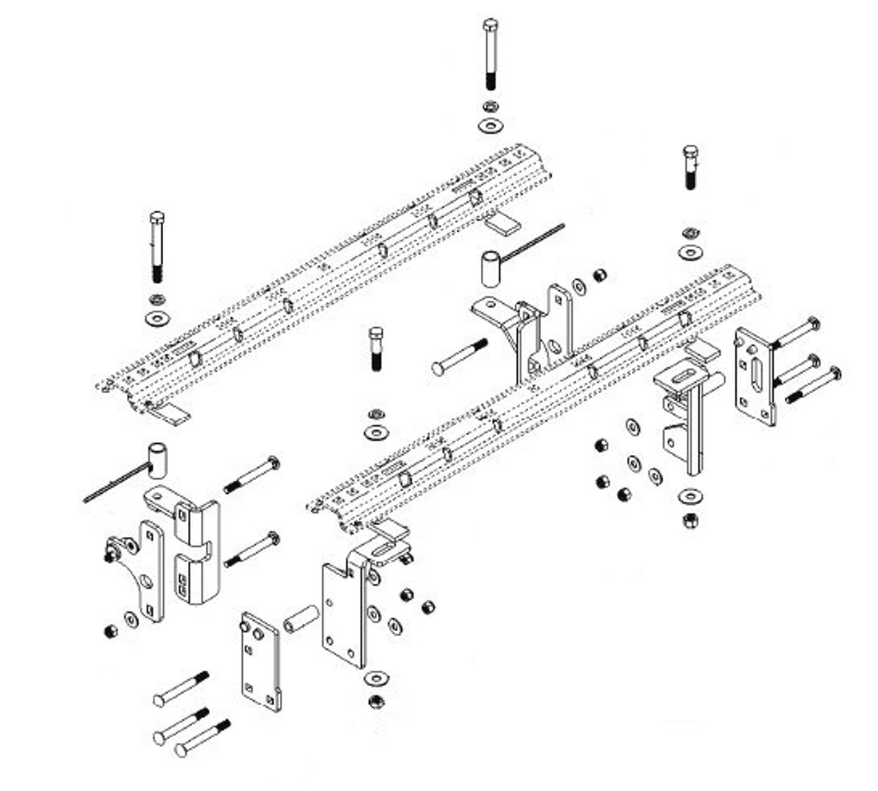 8552026 --- Demco Rail Kit - Premier or Ultra Series
