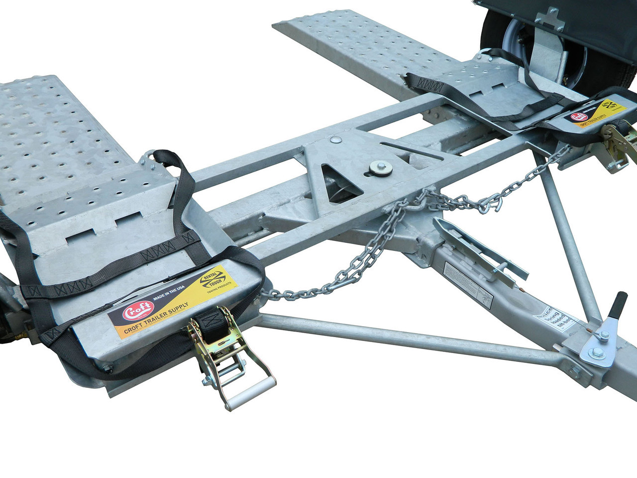 CGTD76 --- CROFT Torsion Axle Tow Dolly - GT400