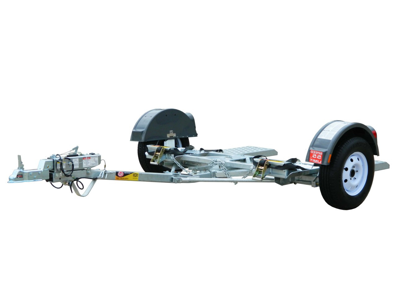 CGTD76DB --- CROFT Torsion Axle Tow Dolly with Surge Disc Brakes - GT400
