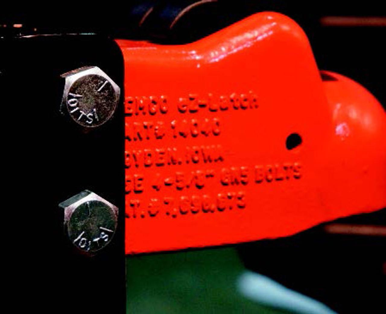 "14040-52 --- Demco Adjustable Coupler - 21,000 lbs Capacity - 2-5/16"" - Silver"