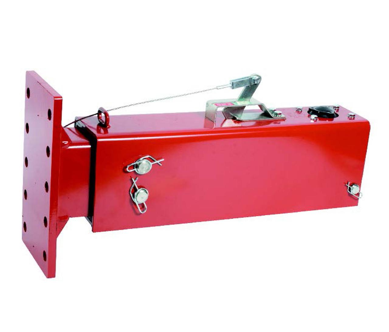 8202052 --- Demco Hydraulic Brake Actuator with Flat Plate - 20,000 lb Capacity - Model DA20