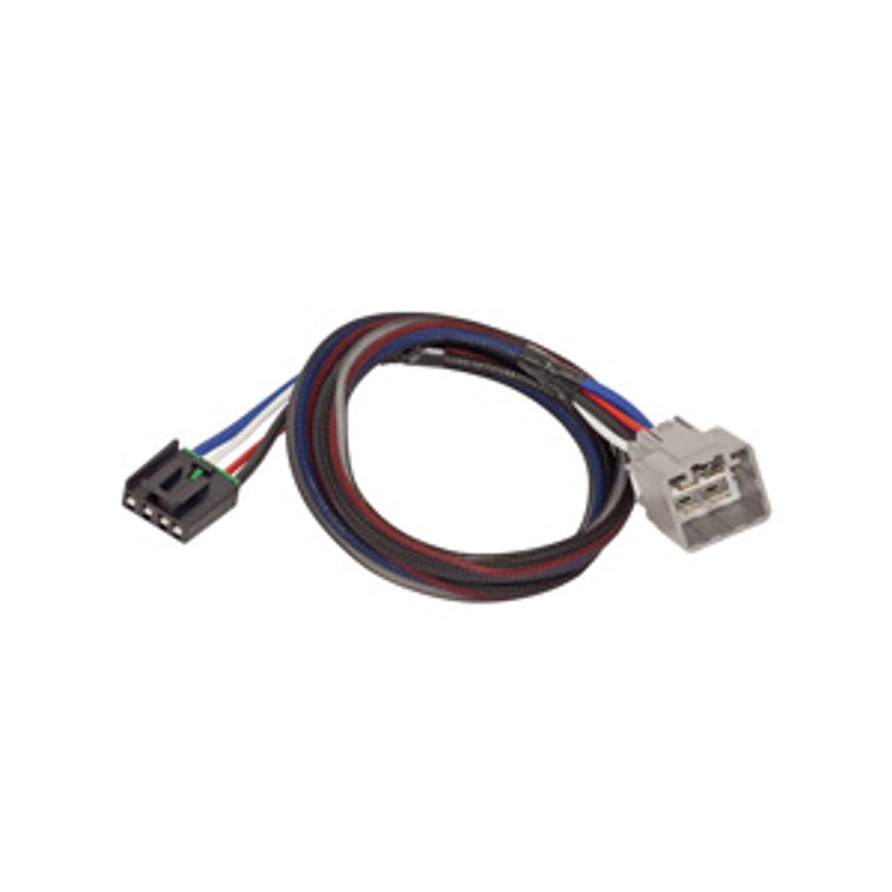 3024 --- Tekonsha & Draw-Tite Brake Control Dual Plug Wiring Harness