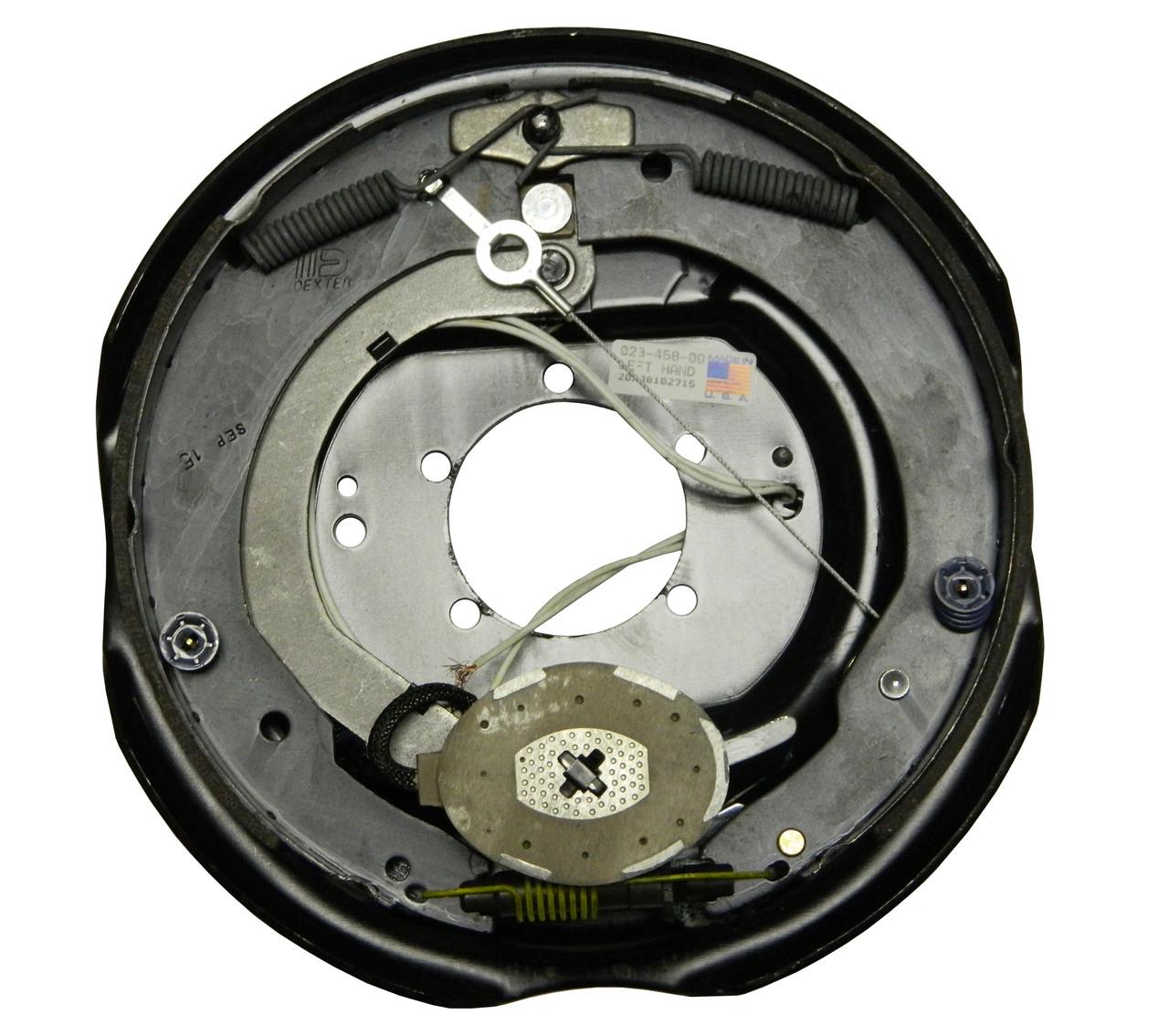 """23-458 --- 12"""" Nev-R-Adjust Electric Brake Assembly - 6K - Left Hand"""