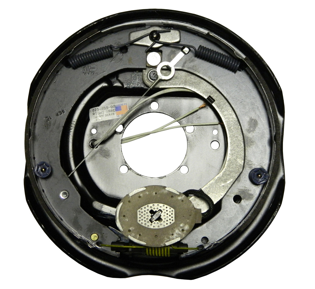 "23-459 --- 12"" Nev-R-Adjust Electric Brake Assembly - 6K - Right Hand"