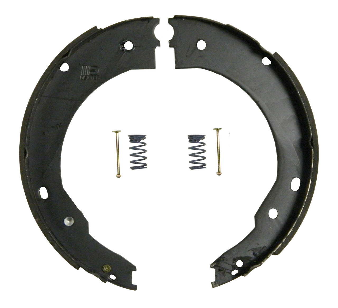 71-674 --- Shoe and Lining Kit for 6,000 lb Capacity Dexter Nev-R-Adjust Electric Brakes - RH