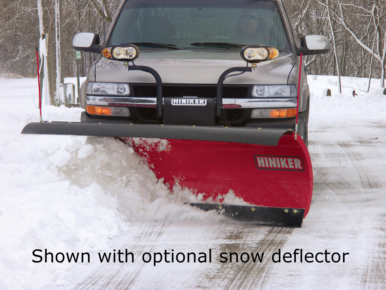 HN2853 --- Hiniker Conventional Snow Plow 2000 Series - 8.5'