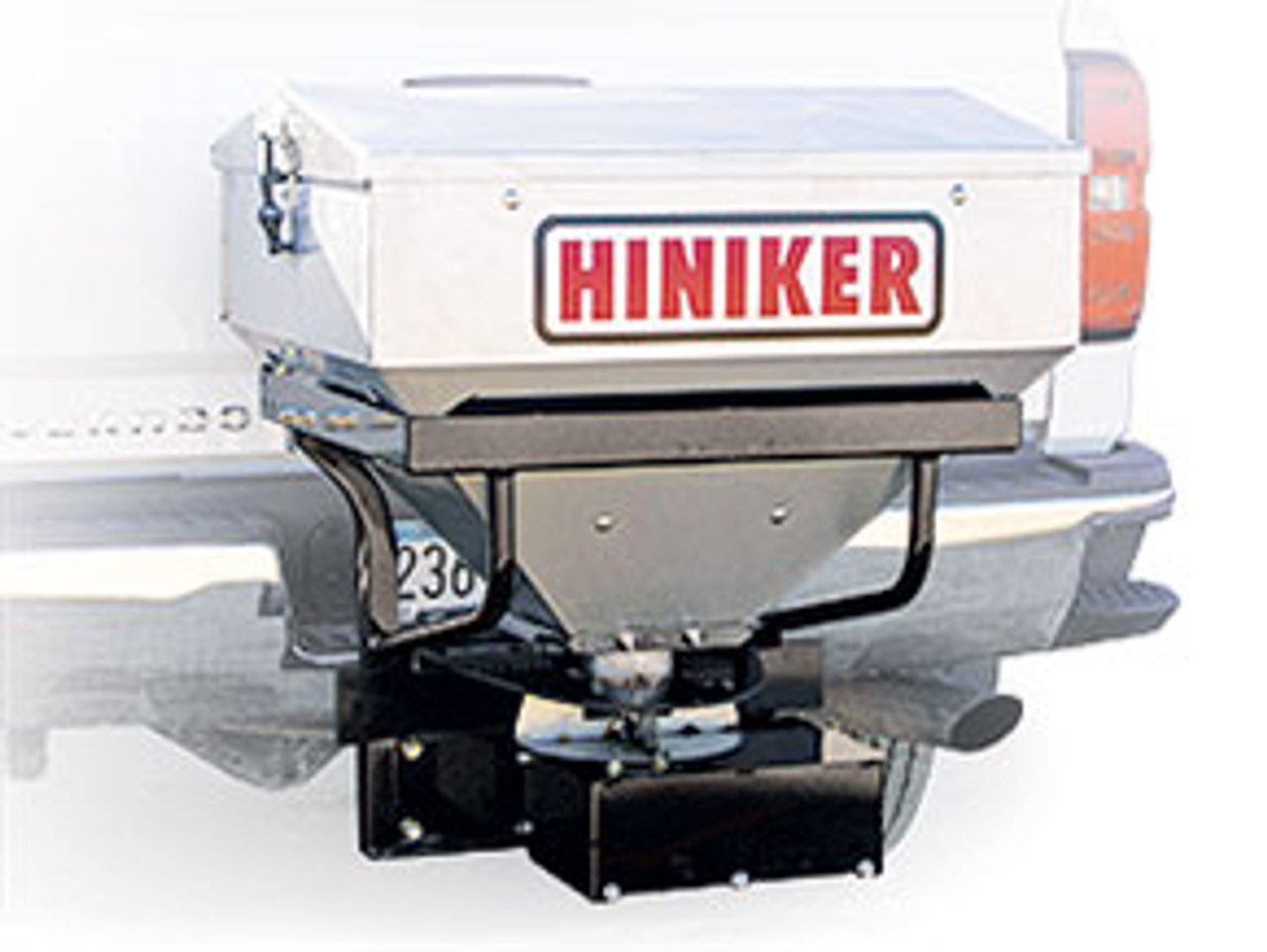 HN600 --- Hiniker 6 Cubic Foot Stainless Steel Tailgate Spreader