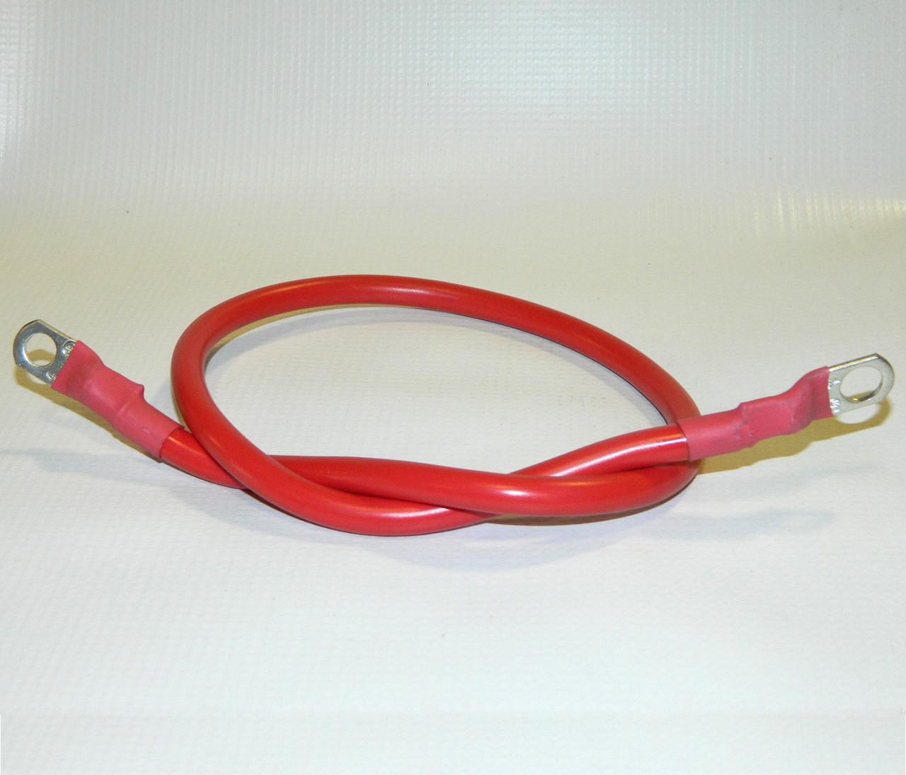 """HN38813012 --- Hiniker Solenoid Cable 4 gauge 24"""""""