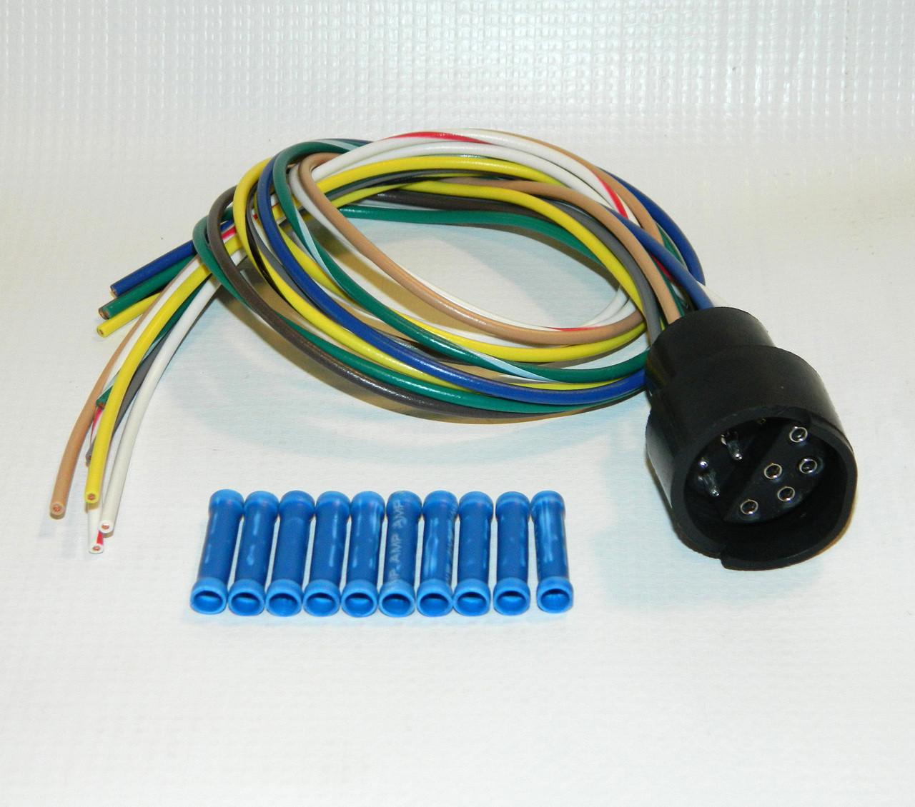 HN38813075 --- Hiniker Plow Side 10 pin Pigtail Repair Kit