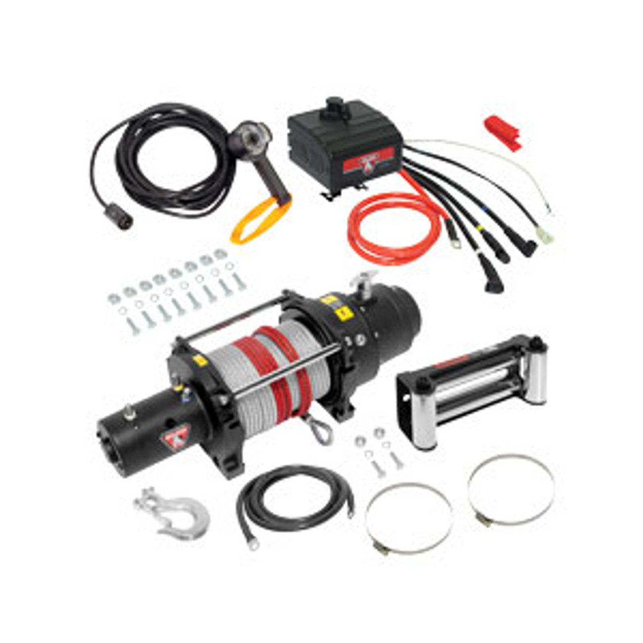 500426 --- BULLDOG DC Electric  Heavy Duty Winch, 12000 lb Capacity