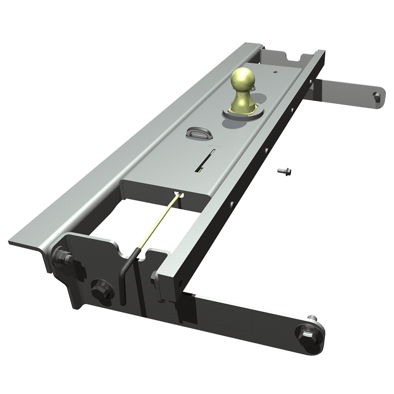BW1016 --- B&W 30K Underbed Turnover Gooseneck Trailer Hitch - Chevy/GMC