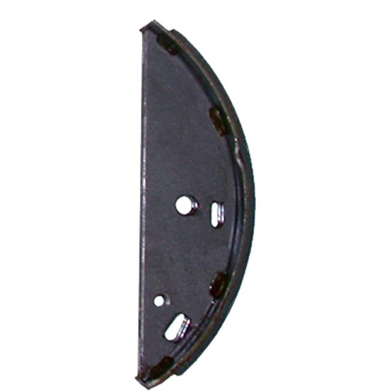 """44845 --- Front Shoe for 12"""" x 2"""" Free Backing Hydraulic Brake, 6,000 lb Capacity - Riveted"""