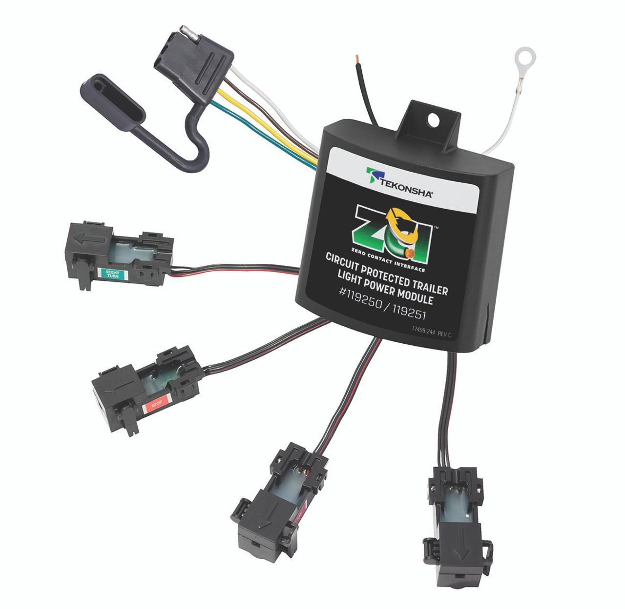 119250 --- ZCI Zero Contact Interface Universal Modulite - No Splicing Convertor