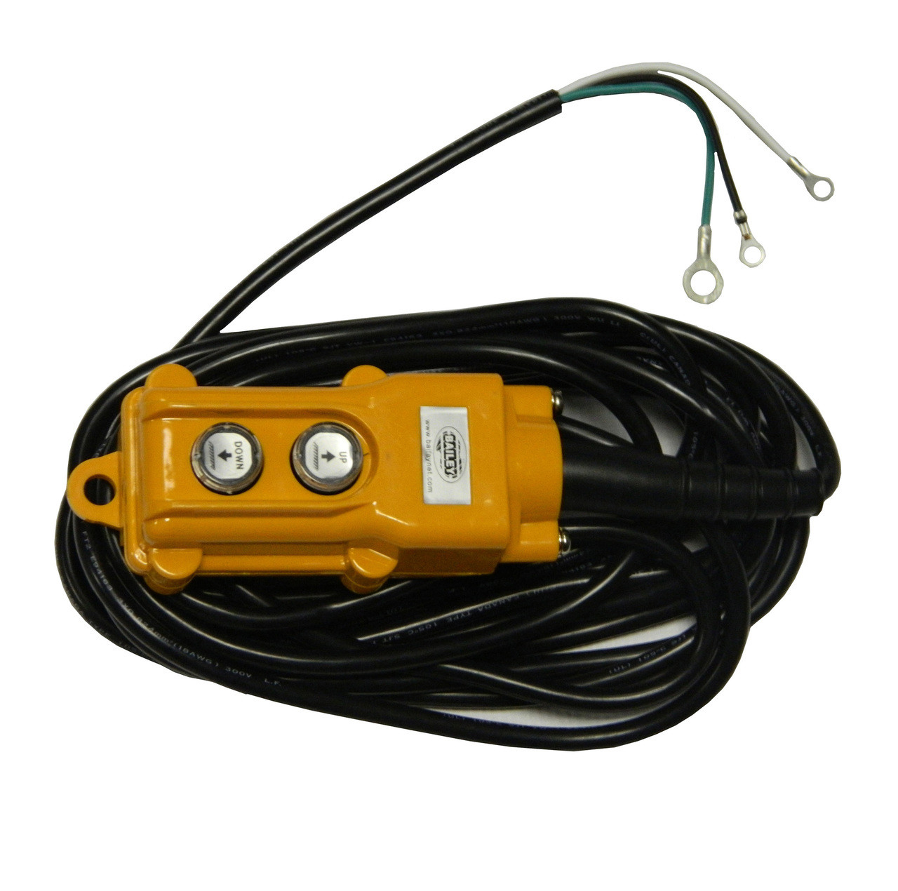 DTRC-GD --- Replacement Remote Control for Dump Trailers, 3 wire on