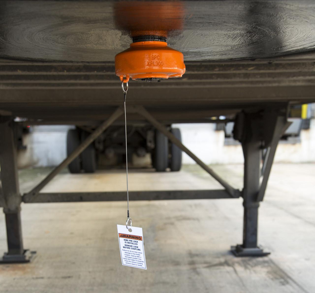 """KPL300 --- 2"""" King Pin Lock for 5th Wheel Trailer - Heavy Duty"""
