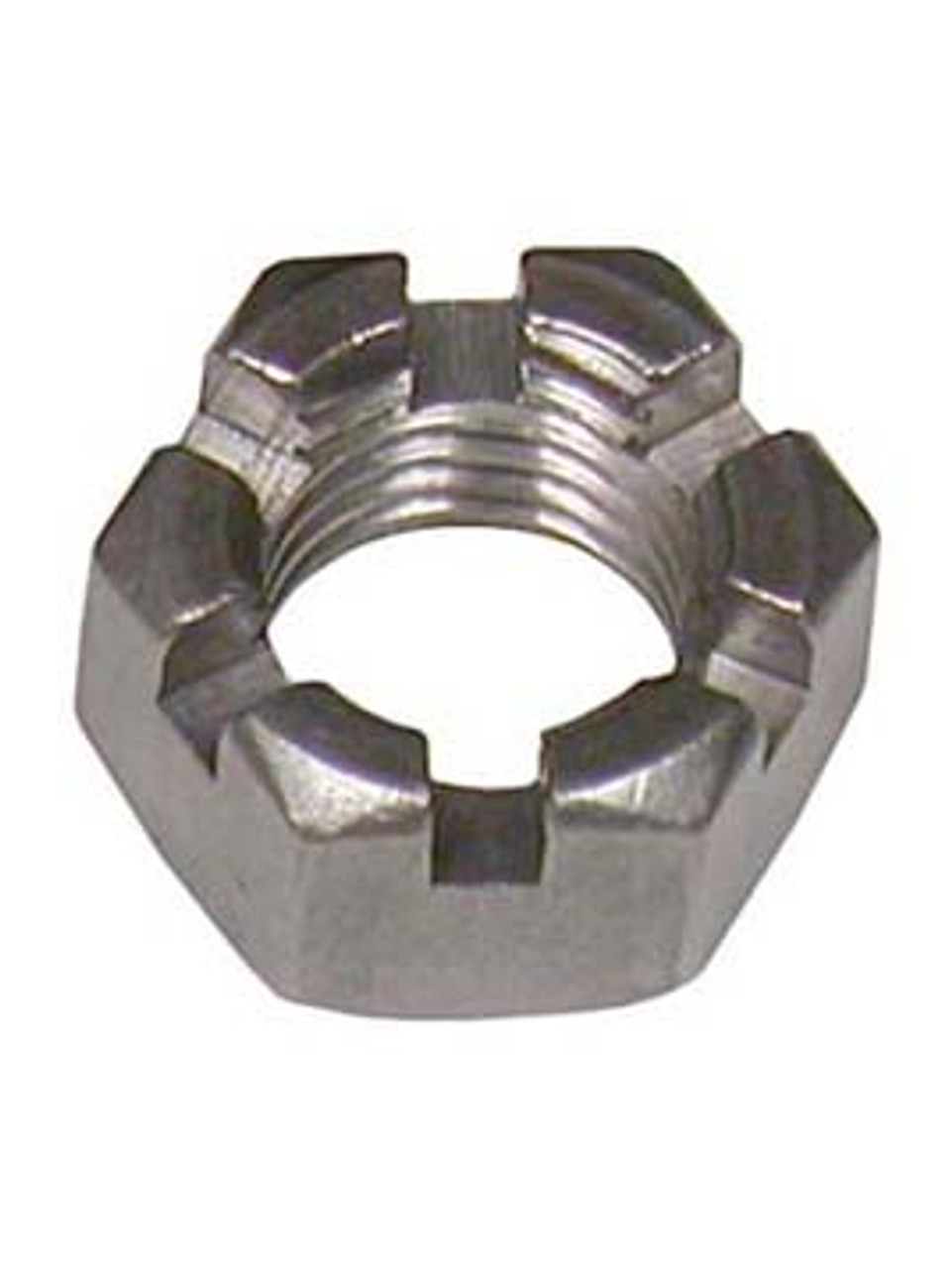 """HSN78 --- Hex Slotted Castle Nut 7/8"""""""