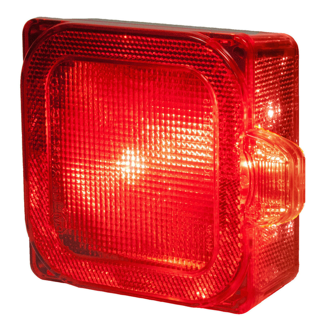 LED844 --- Square Combination LED Right Low Profile Tail Light and Side Marker