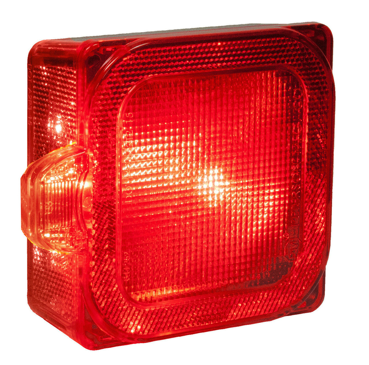 LED844L --- Square Combination LED Left Low Profile Tail Light and Side Marker