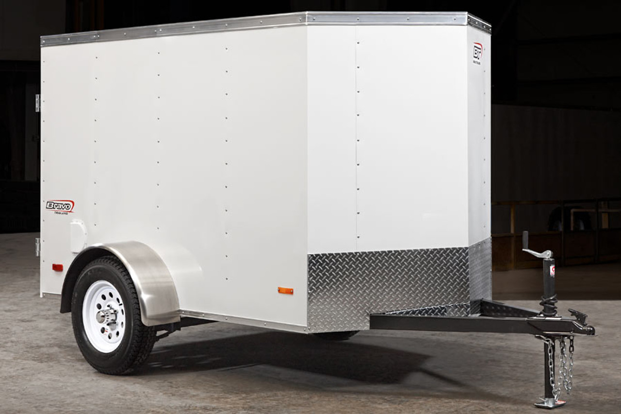 SC58SARD --- 5' X 8' Enclosed Trailer with Ramp Door - Bravo