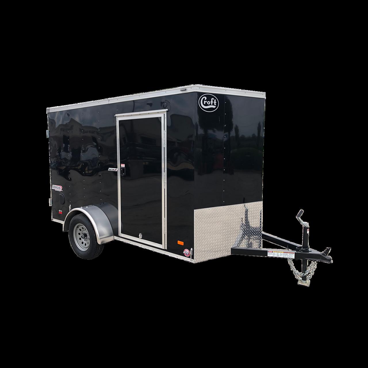 SC610SAD --- 6' X 10' Enclosed Trailer with Double Rear Doors - Bravo