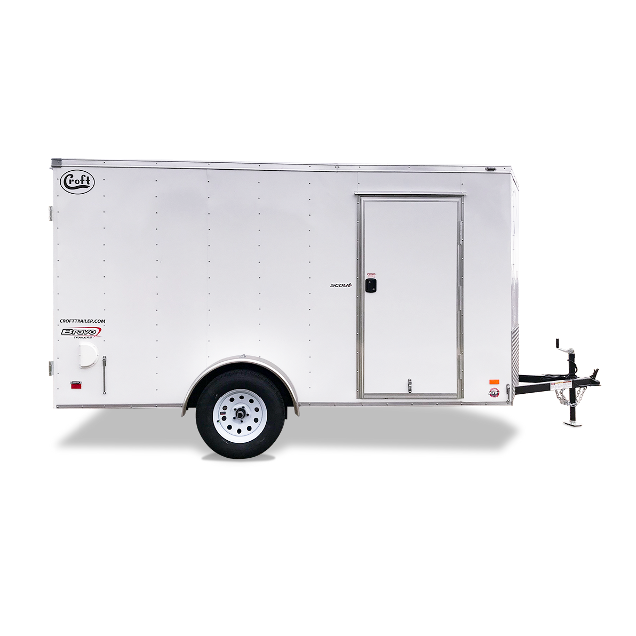 SC612SAD --- 6' X 12' Enclosed Trailer with Double Rear Doors - Bravo