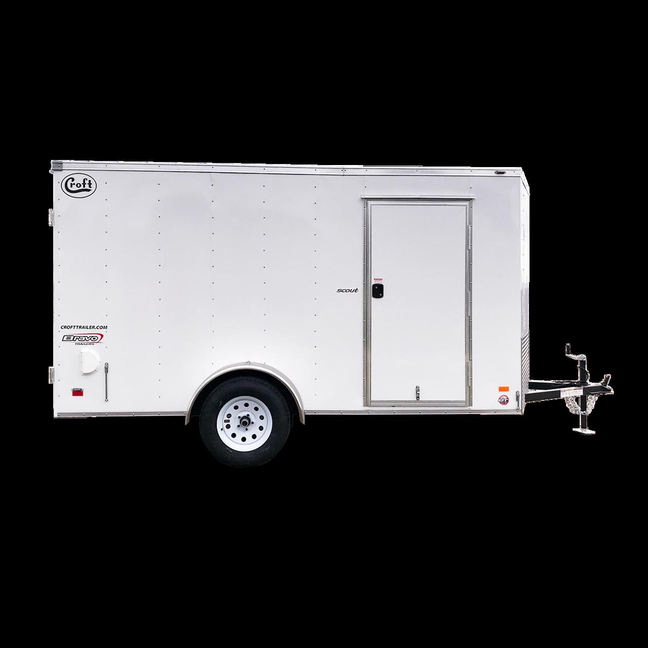 SC612SAD --- 6' X 12' Enclosed Trailer with Double Rear Doors - Bravo
