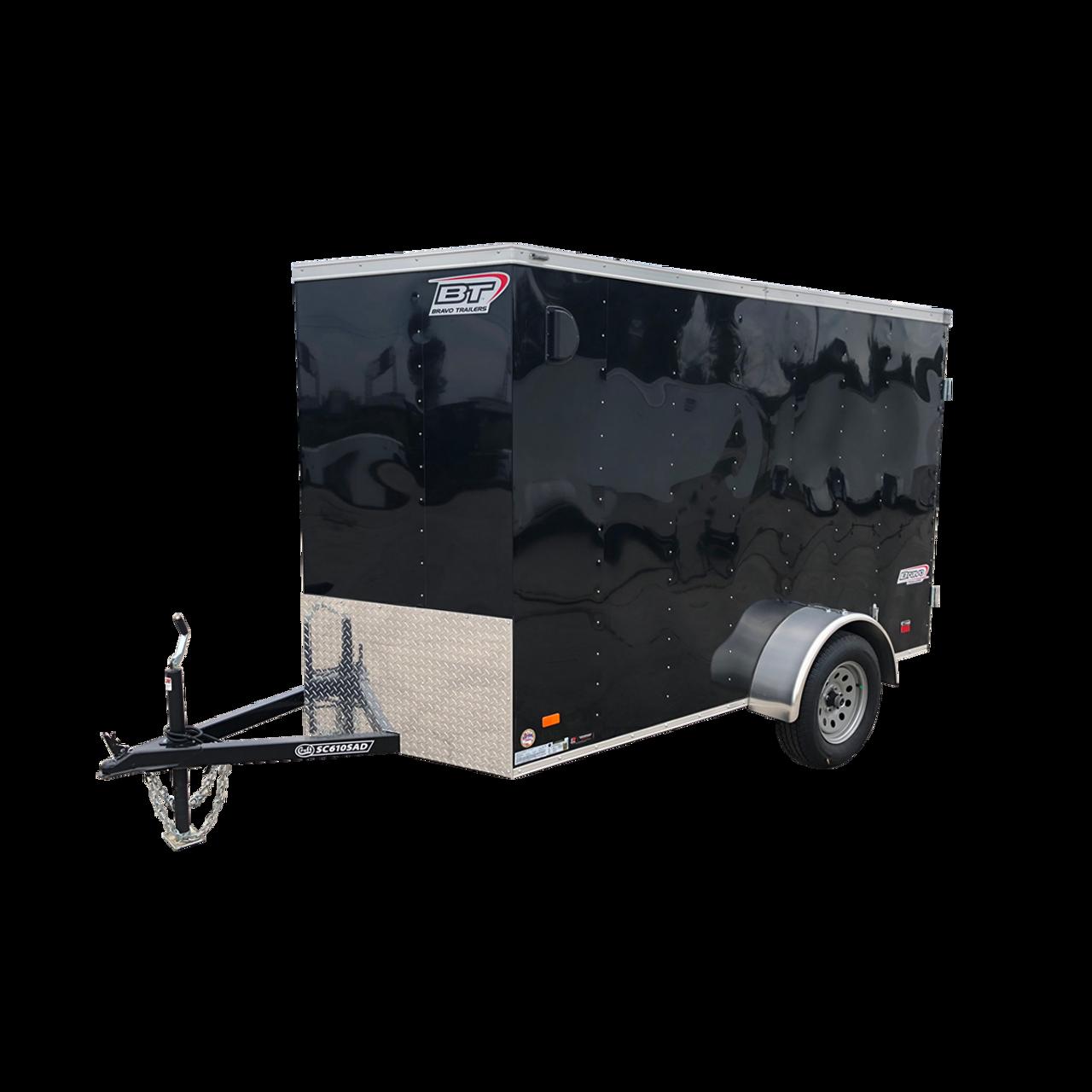 SC610SADGT --- 6' X 10' Enclosed Trailer with Double Rear Doors - Torsion - Bravo