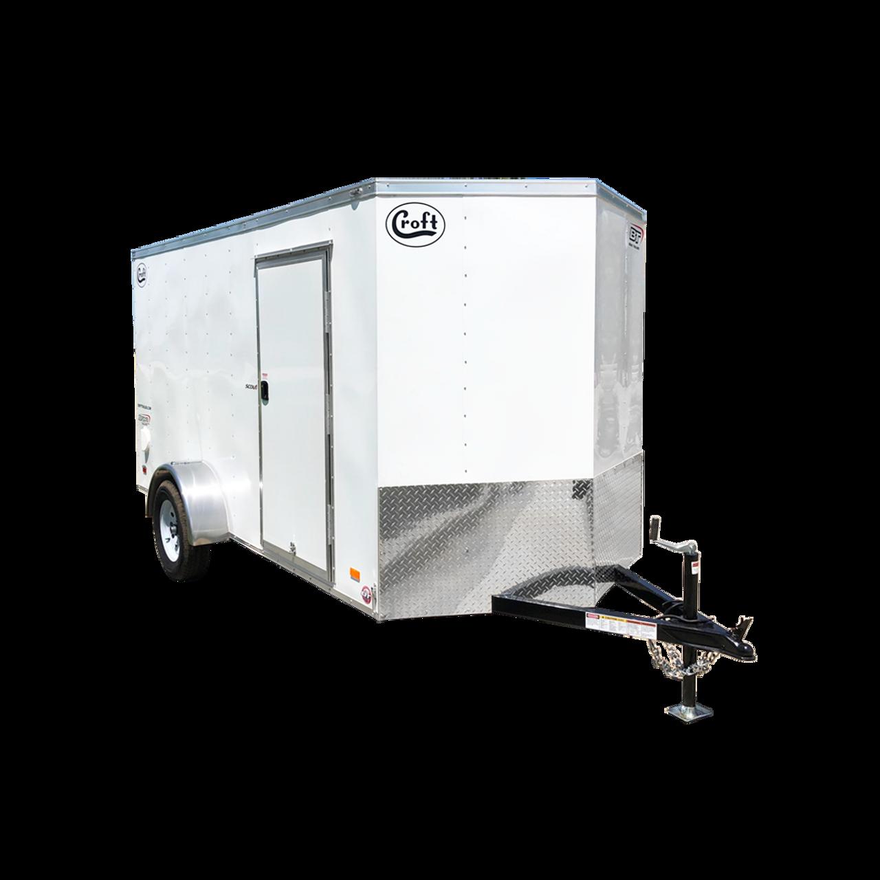 SC612SADRDGT --- 6' X 12' Enclosed Trailer with Ramp Door - Torsion - Bravo