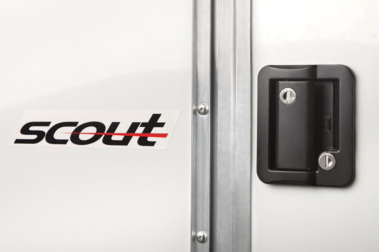 SC610SADSS --- 6' X 10' Enclosed Trailer with Double Rear Doors - Torsion - Bravo