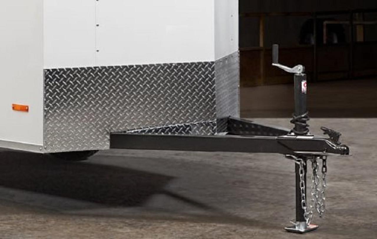 SC612SADSS --- 6' X 12' Enclosed Trailer with Double Rear Doors - Torsion - Bravo
