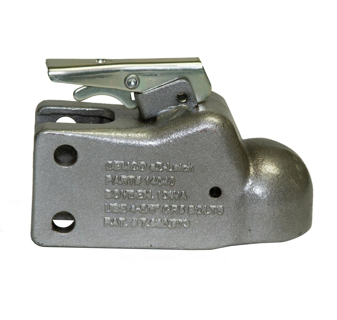 "15791-52 --- Demco Adjustable Coupler - 21,000 lbs Capacity - 2-5/16"" - Silver"