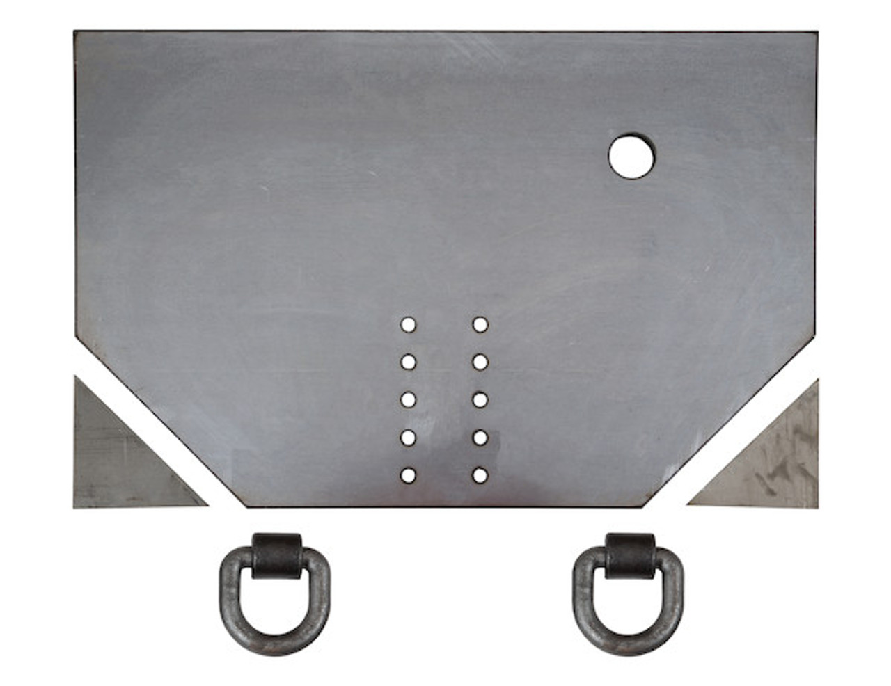 "1809043 --- 5/8"" Fabricators Hitch Plate with Pintle Hook Mounting Holes"