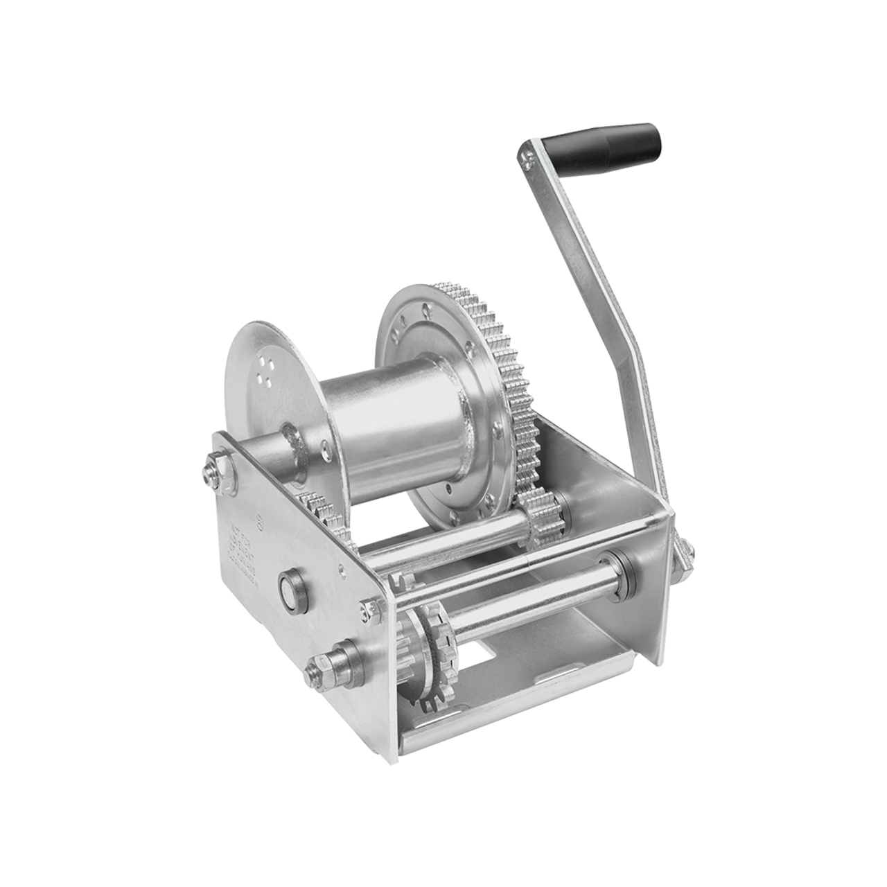 143200 --- Fulton Single Speed Winch with Automatic Brake - 2,500 lb Capacity