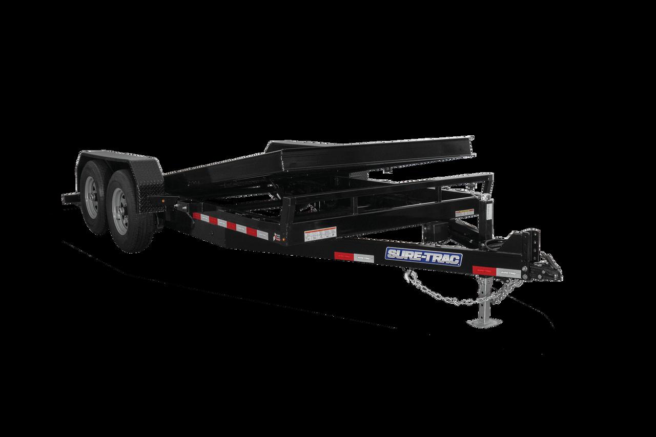 """STET8218TA5 --- 82""""x18' Tilt Bed Equipment Trailer"""