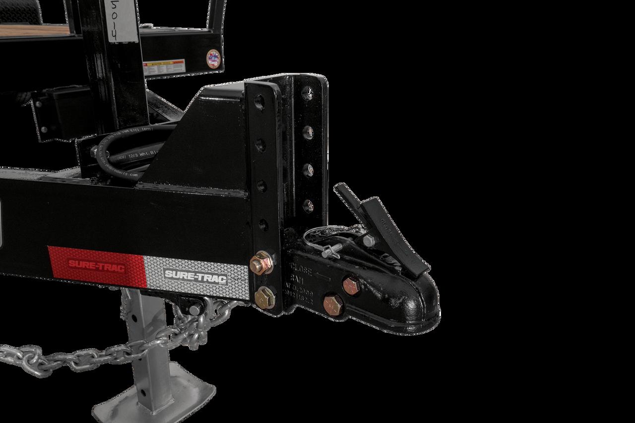 """STET8222TA5 --- 82""""x18.5'+4' Tilt Bed Equipment Trailer"""