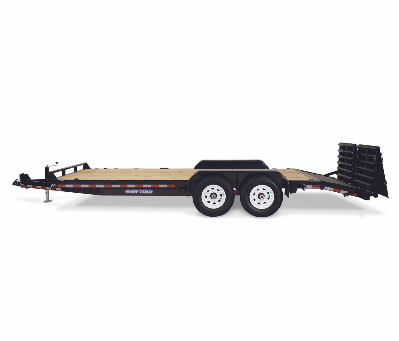 "STIM8118TA5UR --- 81-1/4""x18' Implement Trailer with Universal Ramps"