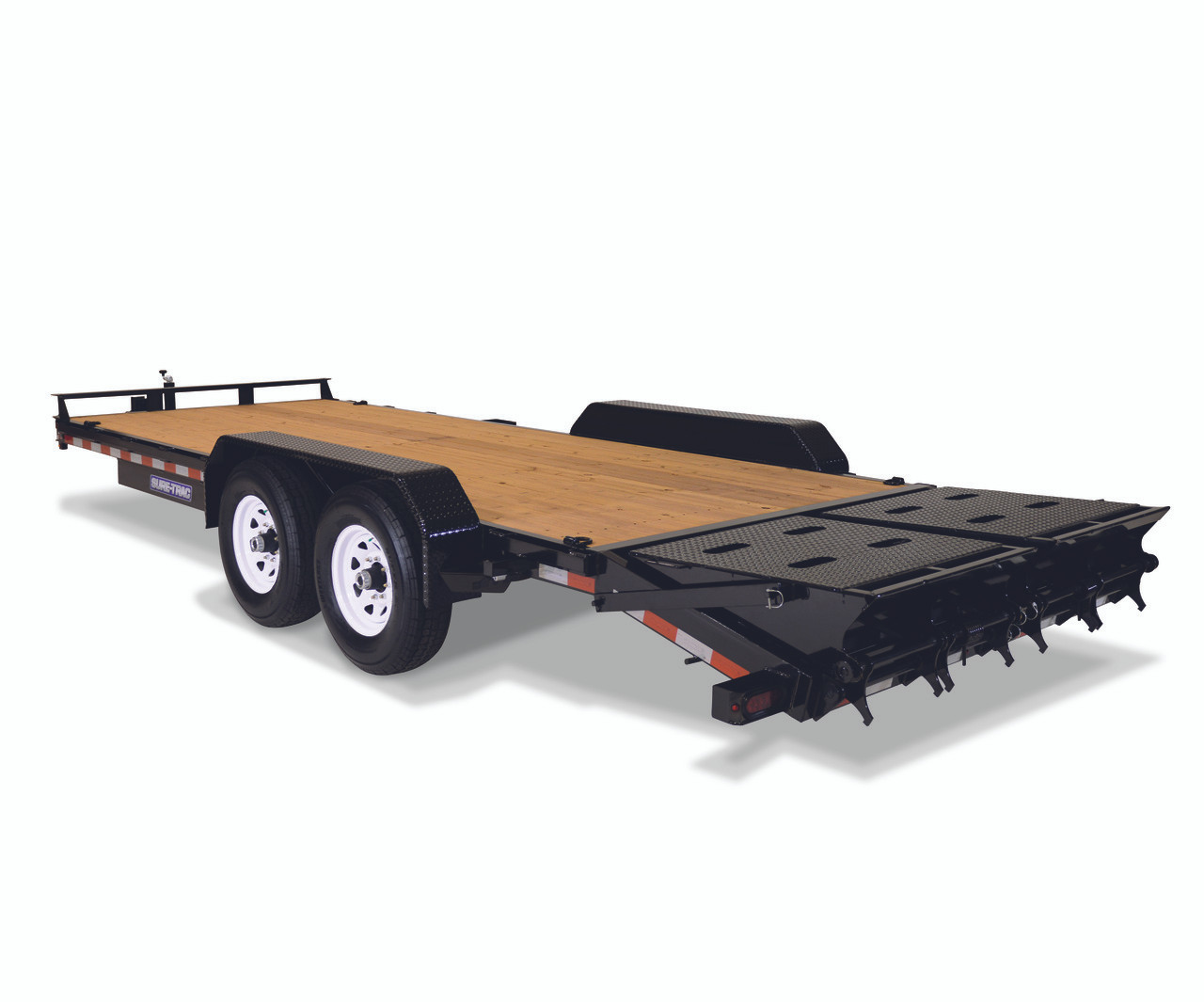 """STIM8120TA5UR --- 81-1/4""""x20' Implement Trailer with Universal Ramps"""