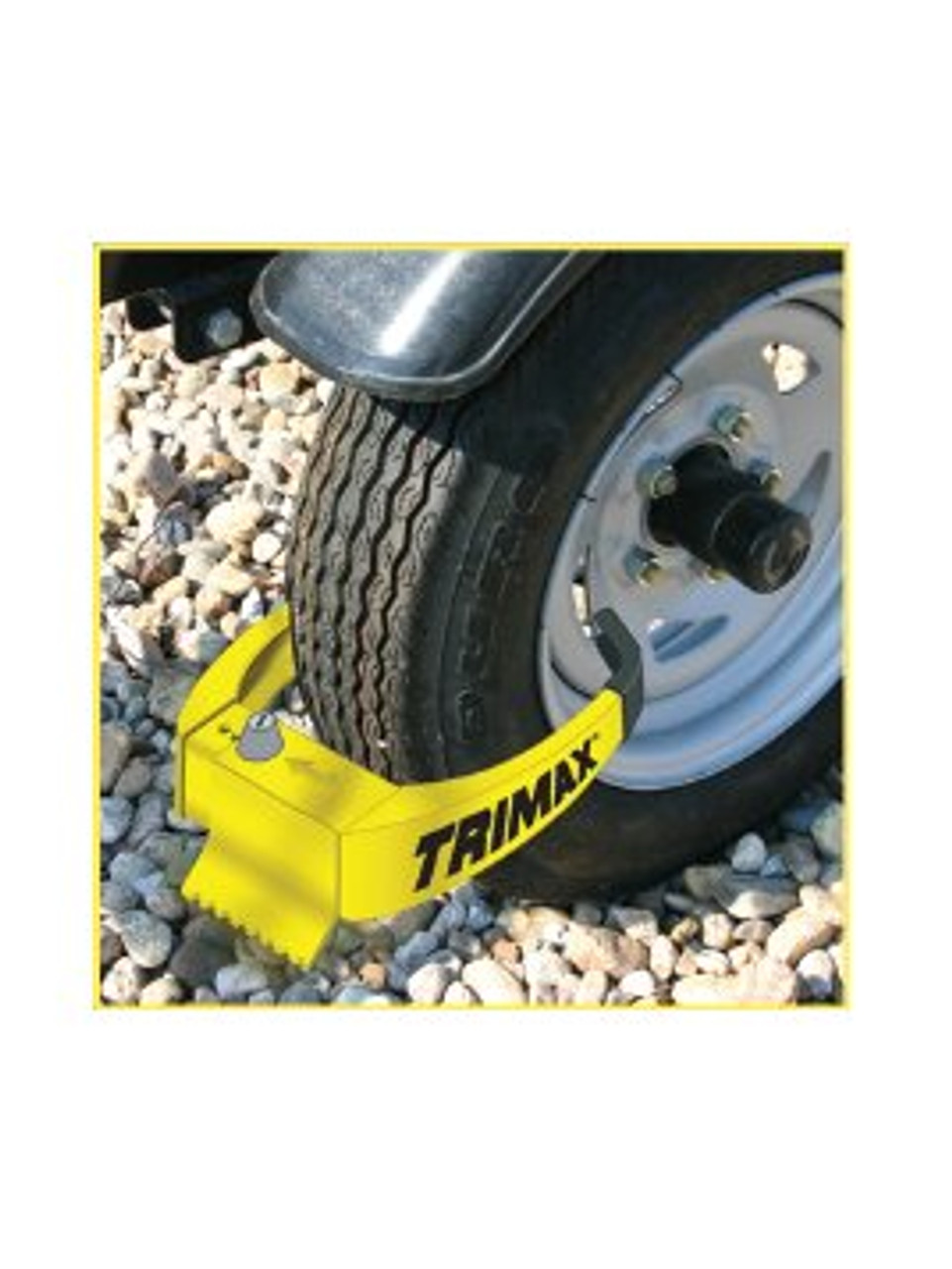 TMWL75-2PK --- Trimax™ Wheel Chock Lock - Keyed Alike