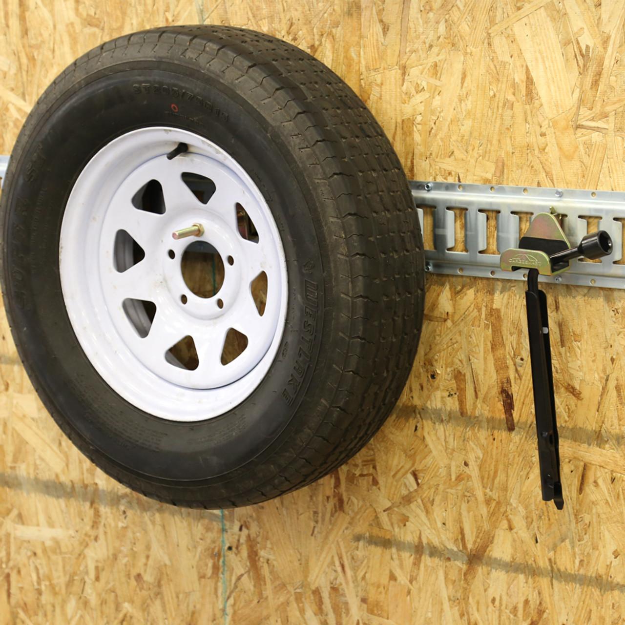 CS1743 --- Spare Tire Holder for E-Track/X-Track Systems