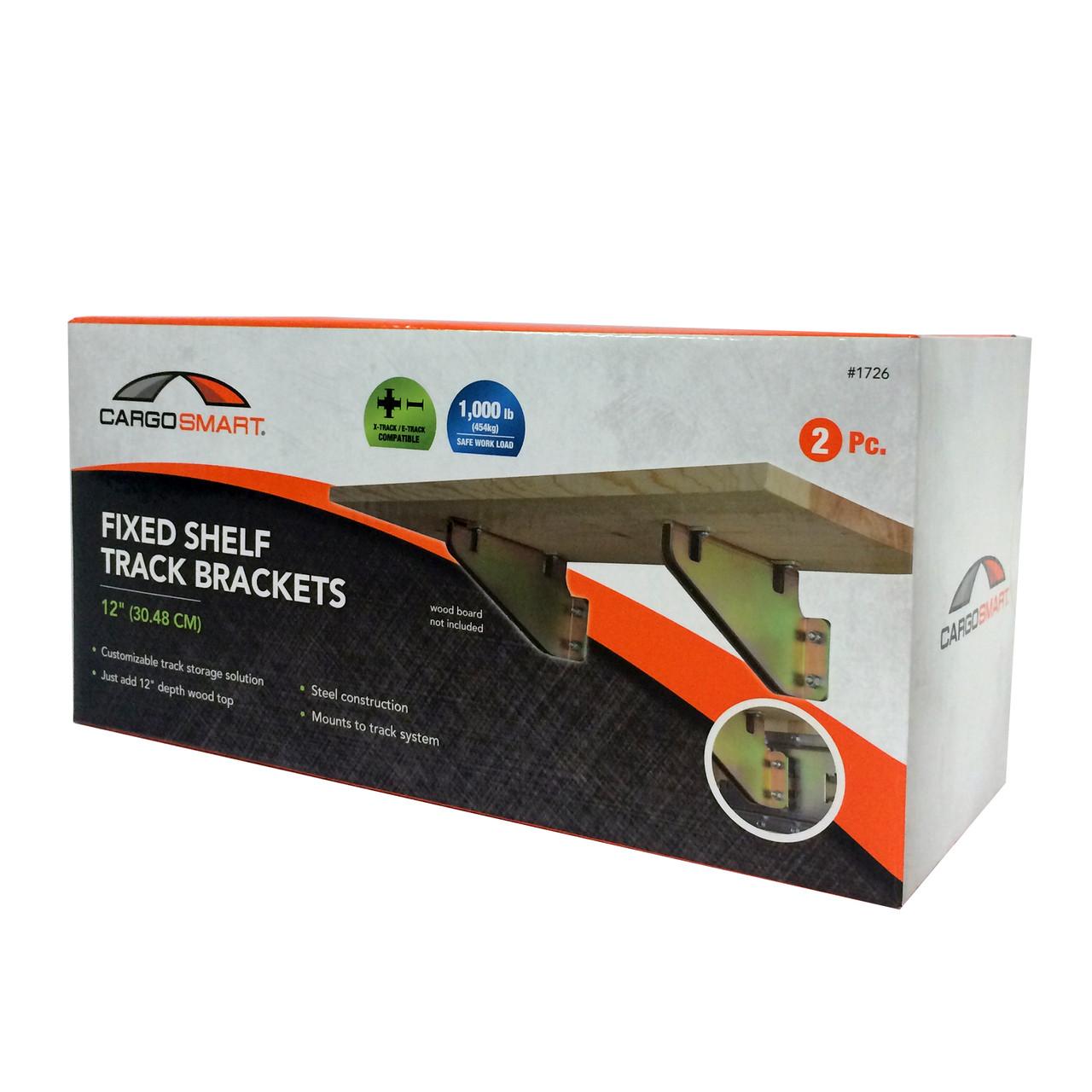 CS1726 --- Fixed Shelf Brackets for X-Track/E-Track Systems