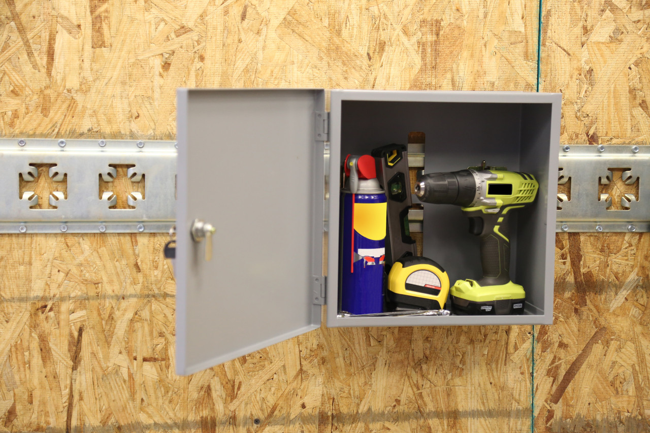 CS1725 --- Medium Locking Cabinet for X-Track/E-Track Systems
