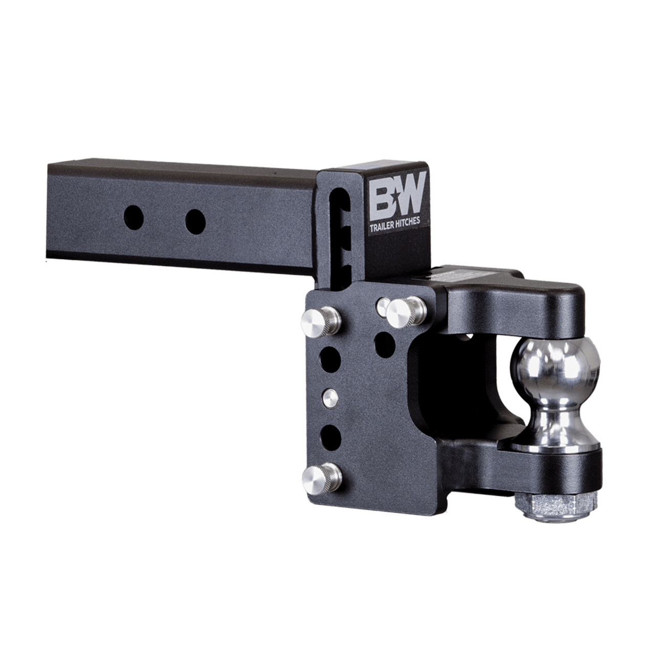 "BW20056 --- 2.5"" B&W Adjustable Pintle Hook with 2-5/16""Ball"