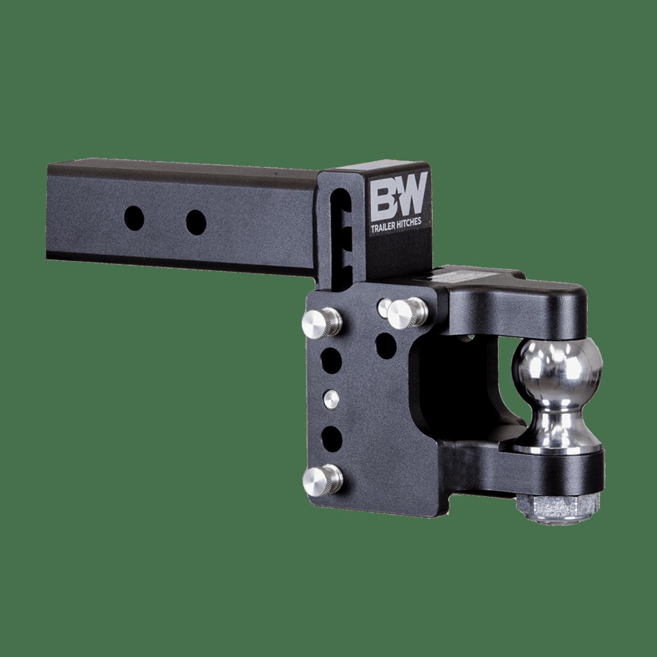 "BW20056 --- 2.5"" B&W Adjustable Pintle Hook with 2-5/16""Ball"