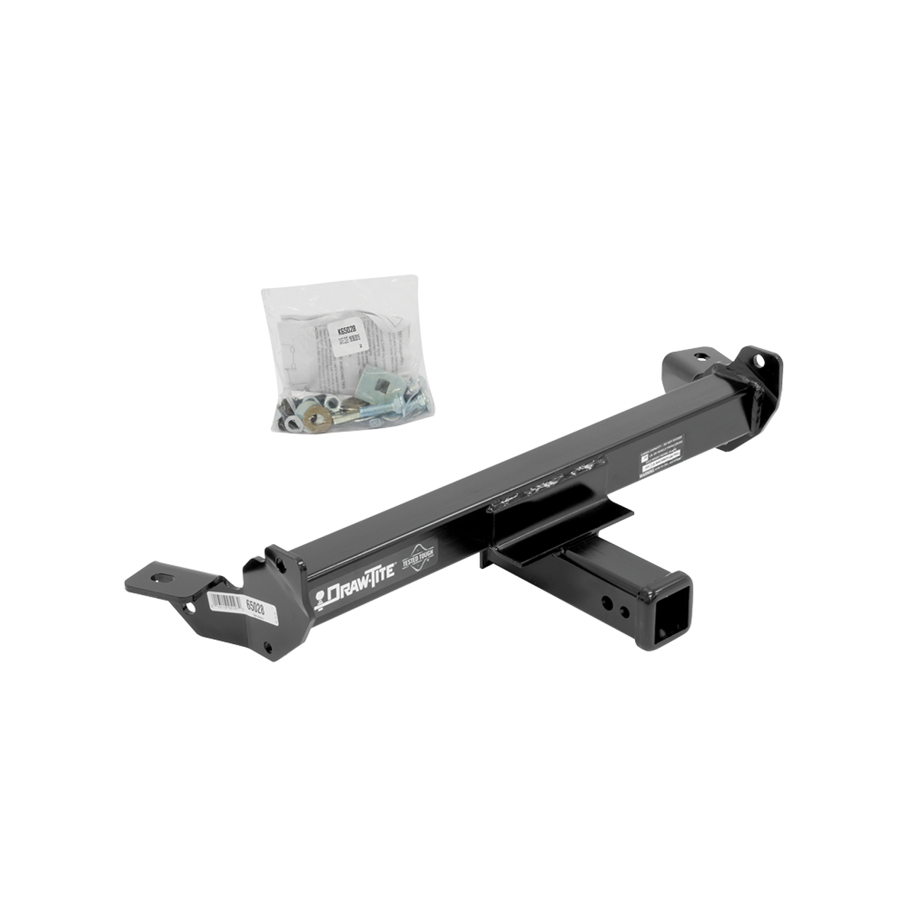 65028 --- Drawtite Front Mount Receiver Hitch - Late Model Chevy/GMC